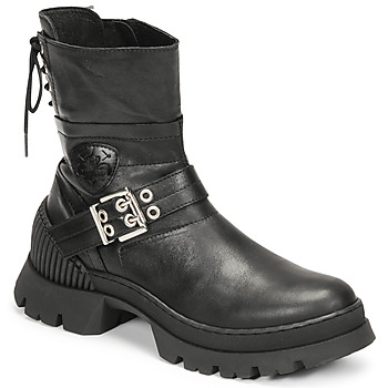 Skor Dam Boots Philippe Morvan CAMIX Svart