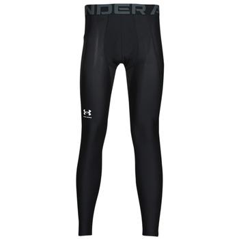 textil Herr Leggings Under Armour UA HG ARMOUR LEGGINGS Svart / Vit