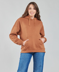 textil Dam Sweatshirts Volcom STONE HEART HOODIE Brun