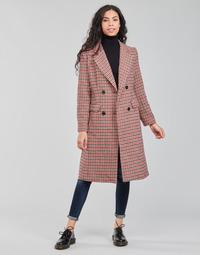 textil Dam Kappor Betty London PIVENE Svart / Röd