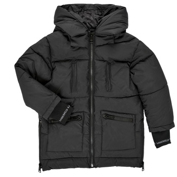 textil Flickor Täckjackor Karl Lagerfeld DIAMANT NOIR Svart