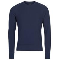 textil Herr Långärmade T-shirts Polo Ralph Lauren LS CREW SLEEP TOP Marin