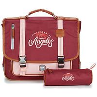 Väskor Flickor Skolväskor Ooban's FUNNY LOS ANGELES CARTABLE 38 CM Rosa