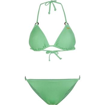 textil Dam Bikini O'neill Capri Bondey Fixed Set Grön