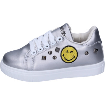 Skor Flickor Sneakers Smiley  Silver