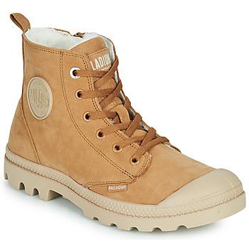 Skor Dam Boots Palladium PAMPA HI ZIP WL W Brun