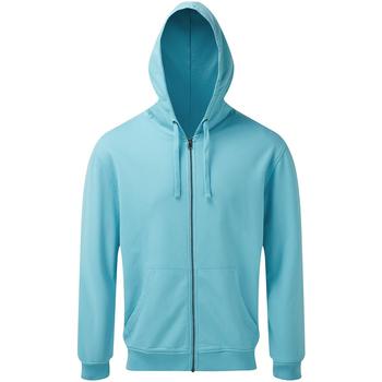 textil Herr Sweatshirts Asquith & Fox AQ046 Ljusa havet