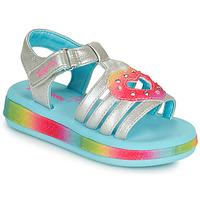 Skor Flickor Sandaler Skechers SUNSHINES/FAIRY HEARTS Flerfärgad