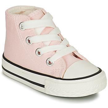 Skor Flickor Höga sneakers Citrouille et Compagnie NEW 19 Rosa