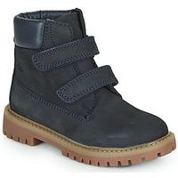 Skor Pojkar Boots Citrouille et Compagnie PAXA Blå