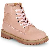 Skor Flickor Boots Citrouille et Compagnie PACITO Rosa