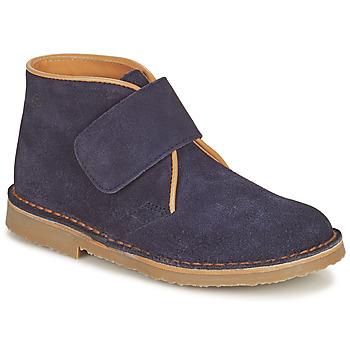 Skor Pojkar Boots Citrouille et Compagnie NANUP Marin