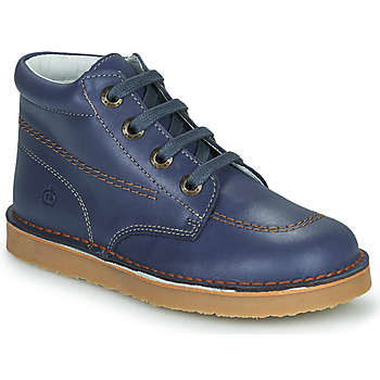 Skor Pojkar Boots Citrouille et Compagnie PIMON Marin
