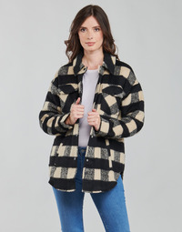 textil Dam Jackor & Kavajer Noisy May NMLULU Beige / Svart