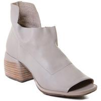 Skor Dam Sandaler Rebecca White T0402  Rebecca White  D??msk?? kotn??kov?? boty z telec?? k??e v barv?