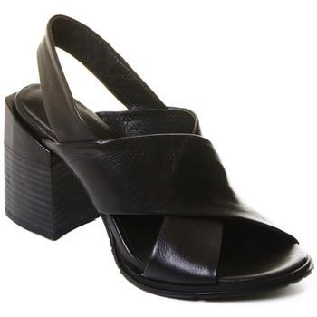 Skor Dam Boots Rebecca White T0507  Rebecca White  Elegantn?? ?ern?? kotn??kov?? boty z telec?? k??