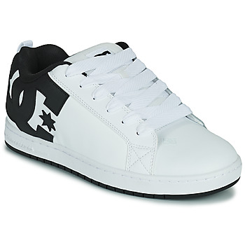 Skor Herr Skateskor DC Shoes COURT GRAFFIK Vit / Svart
