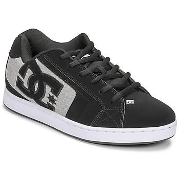 Skor Herr Skateskor DC Shoes NET Svart / Grå