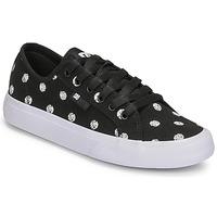 Skor Dam Sneakers DC Shoes MANUAL TXSE Svart / Vit