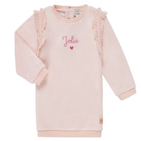 textil Flickor Korta klänningar Carrément Beau ABRICOT Rosa