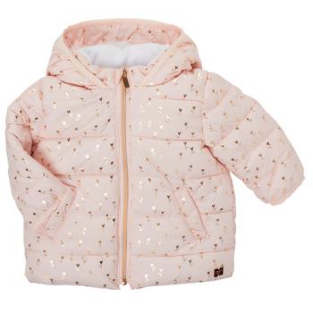 textil Flickor Täckjackor Carrément Beau ACAJOU Rosa