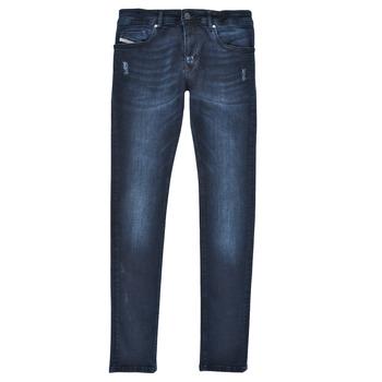 textil Pojkar Skinny Jeans Diesel SLEENKER Blå / Mörk