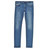 textil Pojkar Skinny Jeans Diesel SLEENKER Blå