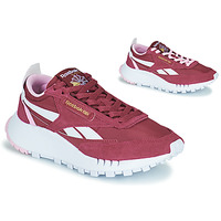 Skor Dam Sneakers Reebok Classic CL LEGACY Bordeaux / Vit