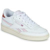 Skor Dam Sneakers Reebok Classic CLUB C REVENGE Vit / Rosa