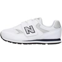 Skor Pojkar Sneakers New Balance YV393CWN WHITE
