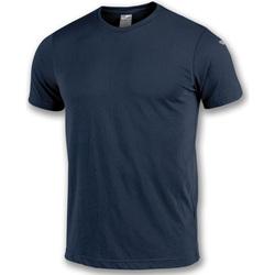 textil Pojkar T-shirts Joma T-shirt  NIMES bleu marine
