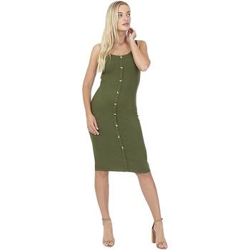 textil Dam Korta klänningar Brave Soul  Khaki
