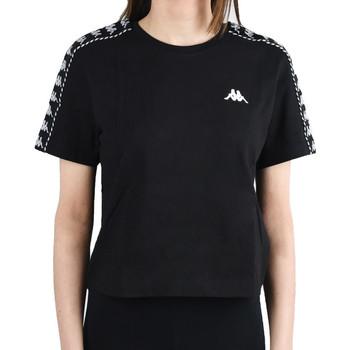 textil Dam T-shirts Kappa Inula T-Shirt Noir