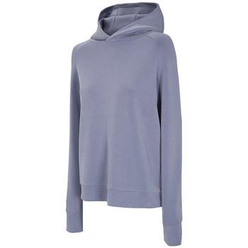 textil Dam Sweatjackets 4F Women's Hoodie Bleu