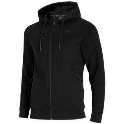 textil Herr Sweatshirts 4F BLM016 Svarta