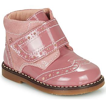 Skor Flickor Boots Citrouille et Compagnie PROYAL Rosa / Lack