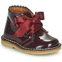 Skor Flickor Boots Citrouille et Compagnie PASTEQU Bordeaux