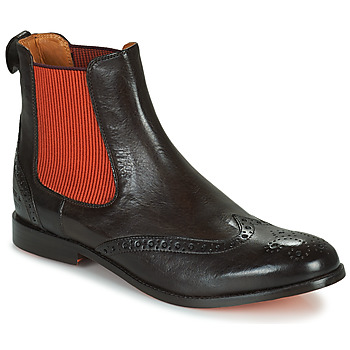 Skor Dam Boots Melvin & Hamilton AMELIE 5 Brun / Orange