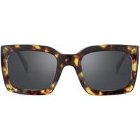 Klockor & Smycken Solglasögon Hanukeii Hyde Grön