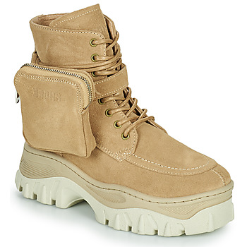 Skor Dam Boots Bronx JAXSTAR MID Beige
