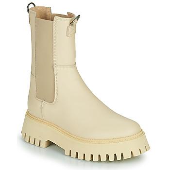 Skor Dam Boots Bronx GROOV Y Beige