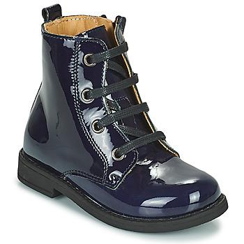 Skor Flickor Boots Citrouille et Compagnie HEMANU Blå