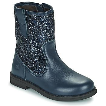 Skor Flickor Boots Citrouille et Compagnie JUCKER Blå