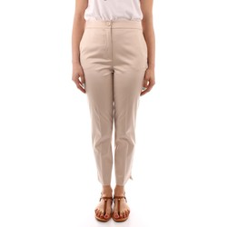 textil Dam Chinos / Carrot jeans Marella OMELIA BEIGE