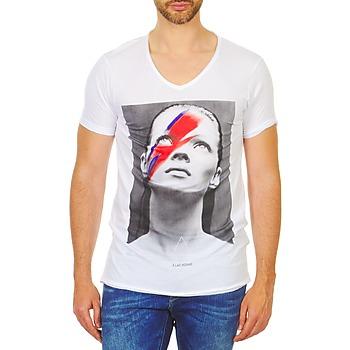 textil Herr T-shirts Eleven Paris KATOS Vit