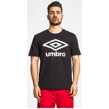 textil Herr T-shirts Umbro m/c T-shirt (00127) Svart