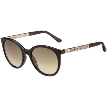 Klockor & Smycken Dam Solglasögon Jimmy Choo  Brun
