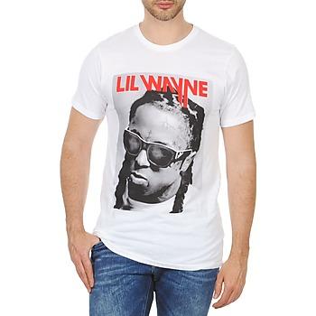textil Herr T-shirts Eleven Paris APY M Vit