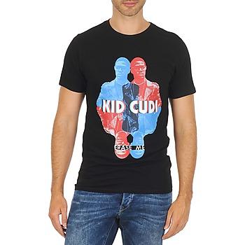 textil Herr T-shirts Eleven Paris KIDC M Svart