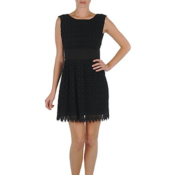 textil Dam Korta klänningar Eleven Paris DEMAR Svart